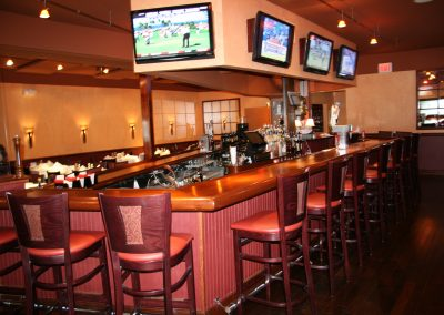 Jericho Renovation 2009 016 bar & TVs