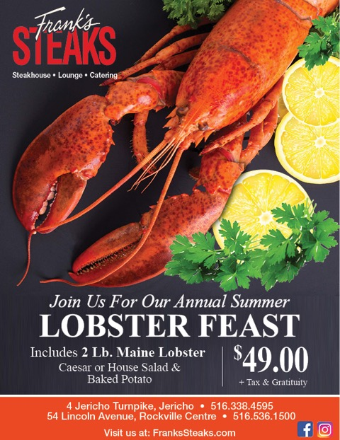 Annual Summer Lobster Feast @ Frank's Steaks !
